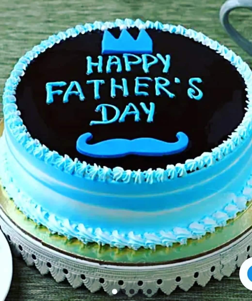 Fathers Day Chocolate Cake